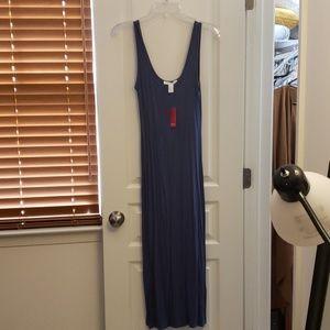 Calf length midi dress